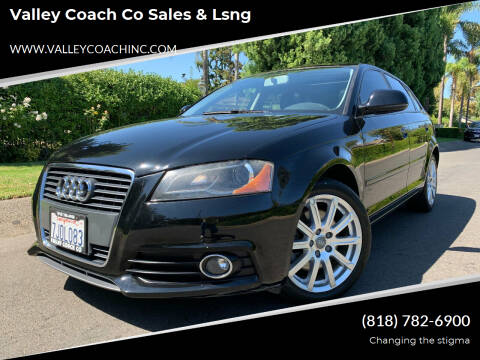 2010 Audi A3 for sale at Valley Coach Co Sales & Lsng in Van Nuys CA