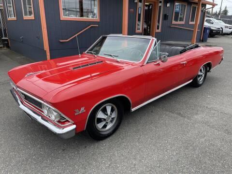 1966 Chevrolet Malibu for sale at Sabeti Motors in Tacoma WA