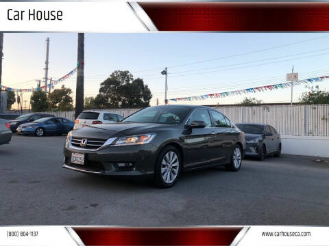 2014 Honda Accord for sale at Car House in San Mateo CA