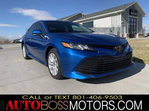 2019 Toyota Camry for sale at Auto Boss in Woodscross UT
