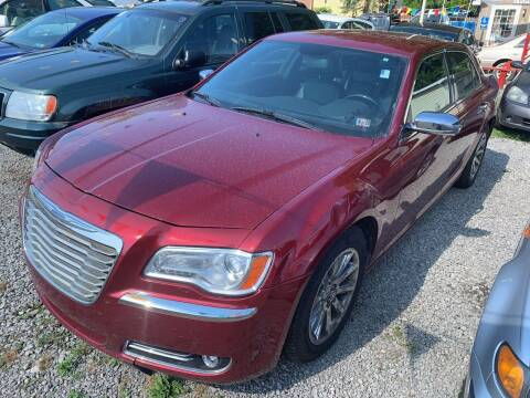 2014 Chrysler 300 for sale at Trocci's Auto Sales in West Pittsburg PA