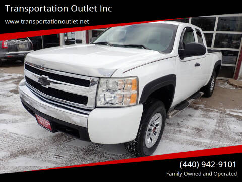 2008 Chevrolet Silverado 1500 for sale at Transportation Outlet Inc in Eastlake OH