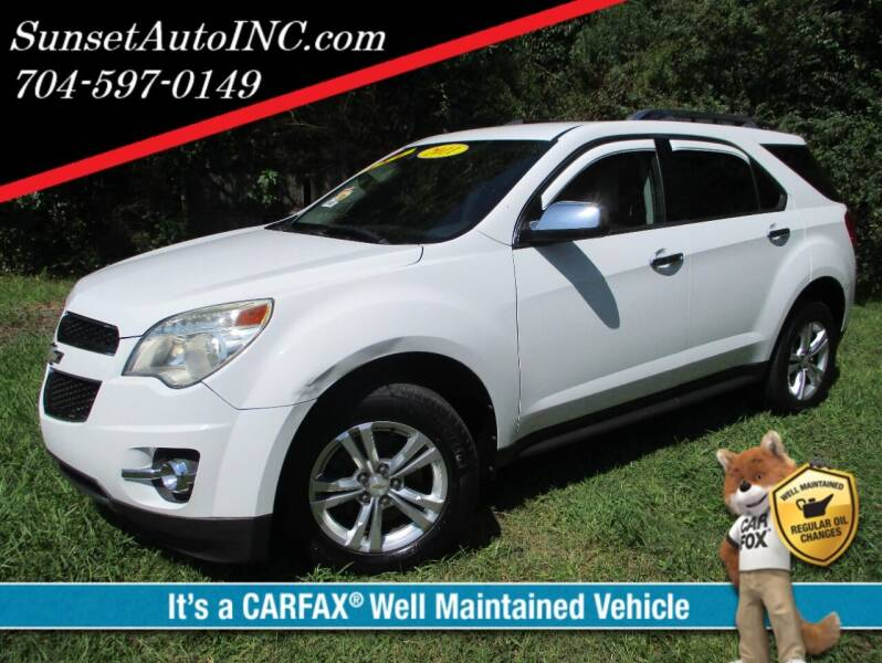 2011 Chevrolet Equinox for sale at Sunset Auto in Charlotte NC