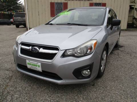2013 Subaru Impreza for sale at Roland's Motor Sales in Alfred ME