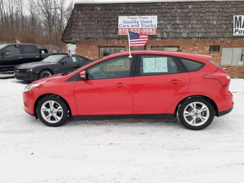 2013 Ford Focus for sale at Kenny's Korner in Hartland MI