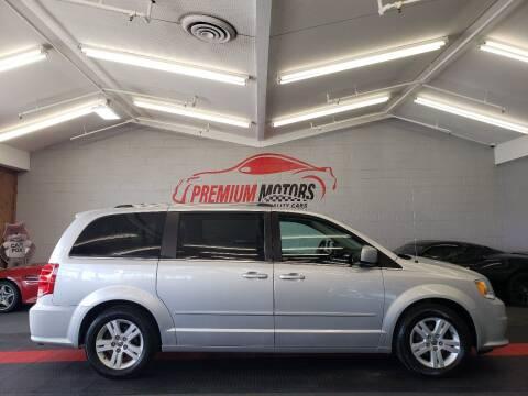 2011 Dodge Grand Caravan for sale at Premium Motors in Villa Park IL