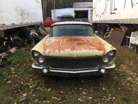 1960 Lincoln Mark IV for sale at Classic Heaven Used Cars & Service in Brimfield MA