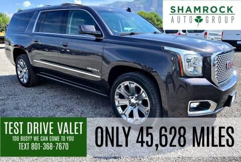 2016 GMC Yukon XL for sale at Shamrock Group LLC #1 in Pleasant Grove UT