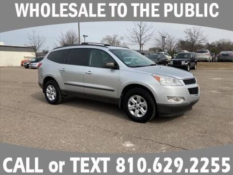 2012 Chevrolet Traverse for sale at Lasco of Grand Blanc in Grand Blanc MI