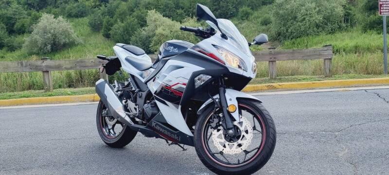 2014 Kawasaki Ninja 300 for sale at BOOST MOTORS LLC in Sterling VA
