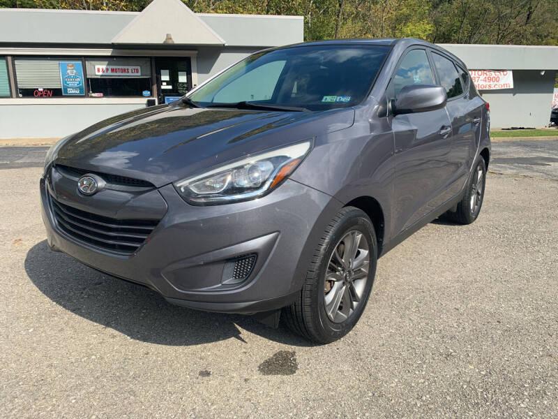 2015 Hyundai Tucson for sale at B & P Motors LTD in Glenshaw PA