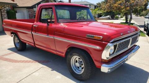1970 Ford F-100 for sale at Classic Car Deals in Cadillac MI