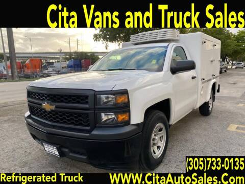 2015 CHEVROLET SILVERADO 1500 REFRIGERATED TRUCK for sale at Cita Auto Sales in Medley FL