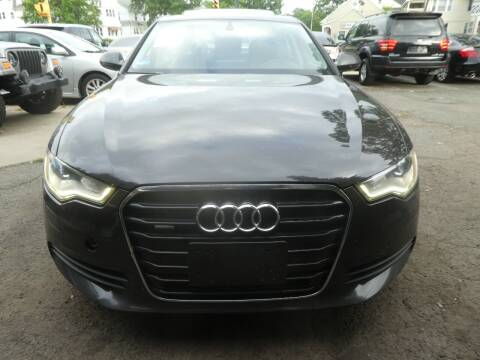 2012 Audi A6 for sale at Wheels and Deals in Springfield MA