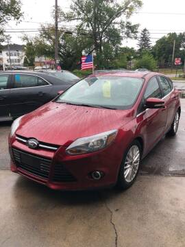 2014 Ford Focus for sale at Jimmys Auto Sales in North Providence RI
