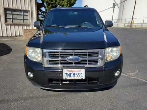 2010 Ford Escape for sale at Regal Autos Inc in West Sacramento CA