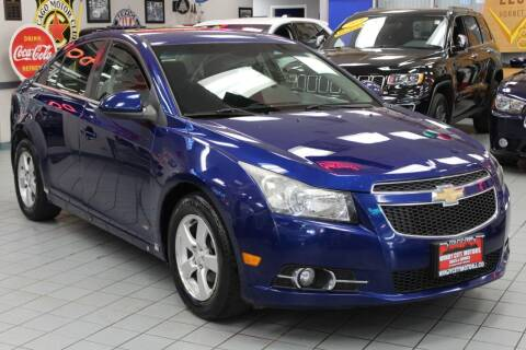 2012 Chevrolet Cruze for sale at Windy City Motors in Chicago IL