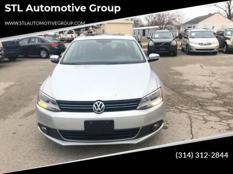 2011 Volkswagen Jetta for sale at STL Automotive Group in O'Fallon MO