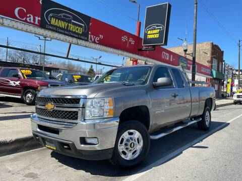 2012 Chevrolet Silverado 2500HD for sale at Manny Trucks in Chicago IL