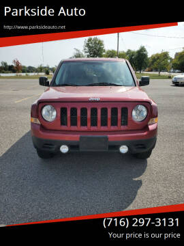 2014 Jeep Patriot for sale at Parkside Auto in Niagra Falls NY