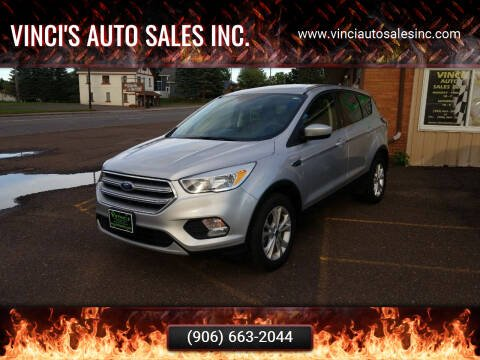 2017 Ford Escape for sale at Vinci's Auto Sales Inc. in Bessemer MI