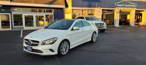 2018 Mercedes-Benz CLA for sale at Import Autowerks in Portsmouth VA
