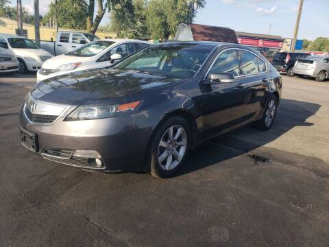 2013 Acura TL for sale at Nonstop Motors in Indianapolis IN
