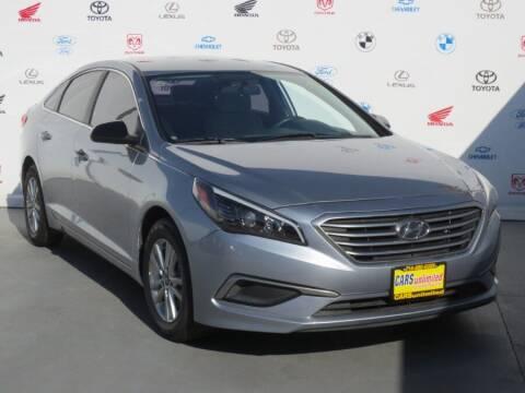 2017 Hyundai Sonata for sale at Cars Unlimited of Santa Ana in Santa Ana CA