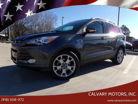 2015 Ford Escape for sale at Calvary Motors, Inc. in Bixby OK
