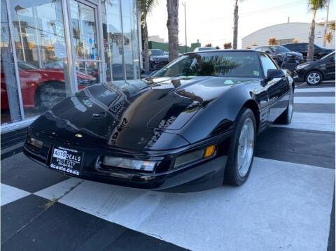 1992 Chevrolet Corvette for sale at AutoDeals in Daly City CA