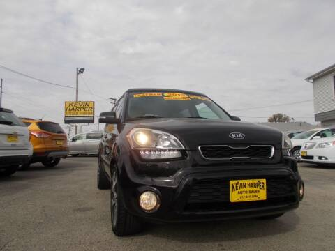 2012 Kia Soul for sale at Kevin Harper Auto Sales in Mount Zion IL
