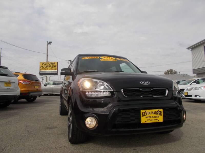 2012 Kia Soul for sale at Kevin Harper Auto Sales in Mount Zion IL