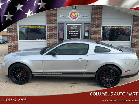 2011 Ford Mustang for sale at Columbus Auto Mart in Columbus NE