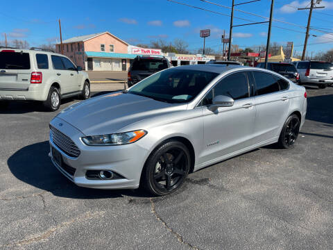 2014 Ford Fusion Hybrid for sale at Elliott Autos in Killeen TX