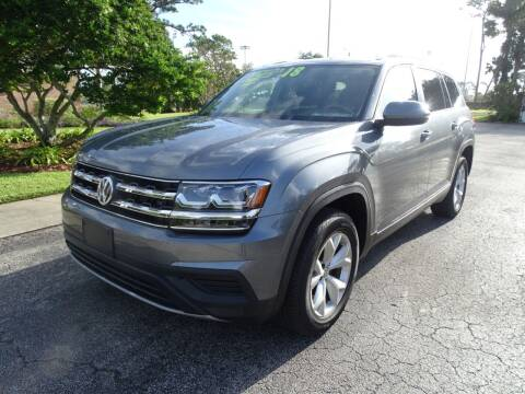 2018 Volkswagen Atlas for sale at Park Avenue Motors in New Smyrna Beach FL