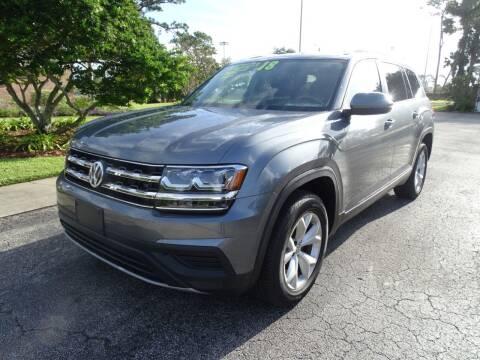 2018 Volkswagen Atlas for sale at Park Avenue Motors in New Smyrna Beach FL
