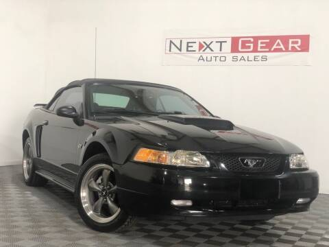 2003 Ford Mustang for sale at Next Gear Auto Sales in Westfield IN