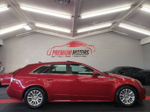 2010 Cadillac CTS for sale at Premium Motors in Villa Park IL