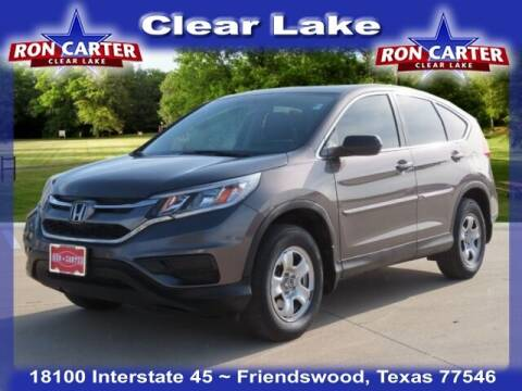 2015 Honda CR-V for sale at Ron Carter  Clear Lake Used Cars in Houston TX