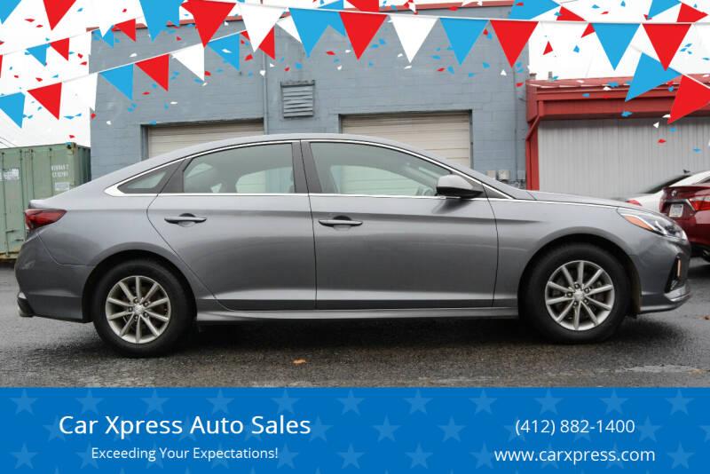 2018 Hyundai Sonata for sale at Car Xpress Auto Sales in Pittsburgh PA