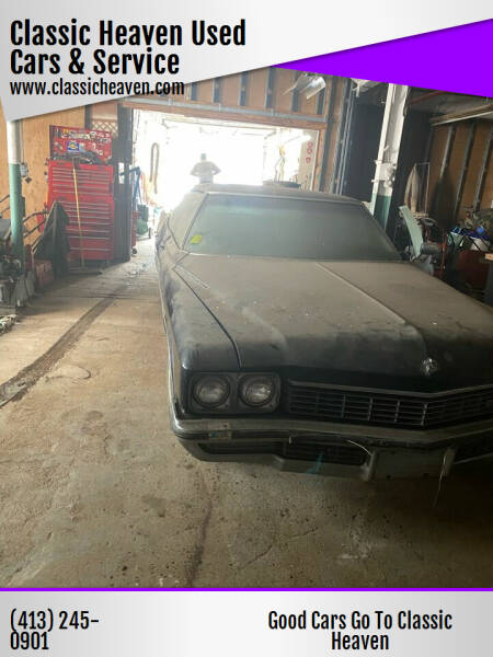 1972 Buick Electra225  for sale at Classic Heaven Used Cars & Service in Brimfield MA