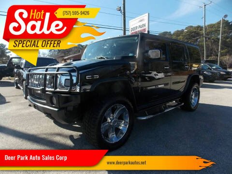 2003 HUMMER H2 for sale at Deer Park Auto Sales Corp in Newport News VA