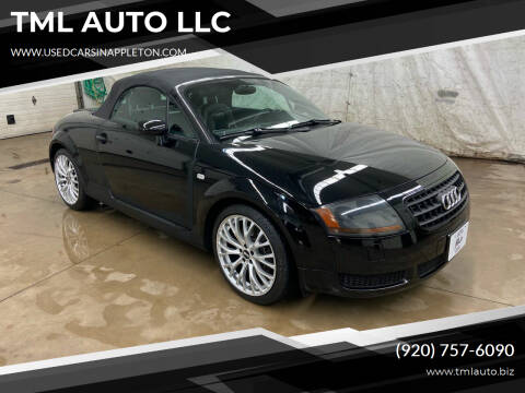 2004 Audi TT for sale at TML AUTO LLC in Appleton WI