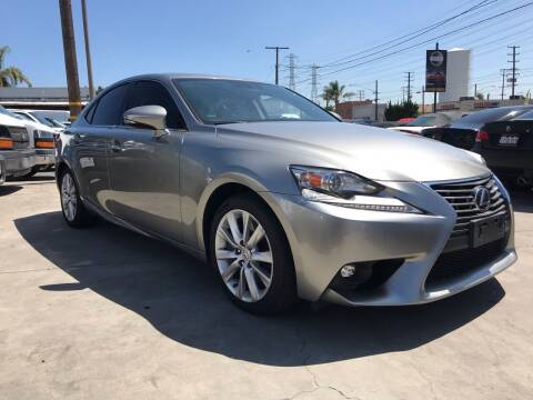 2016 Lexus IS 200t for sale at Best Buy Quality Cars in Bellflower CA