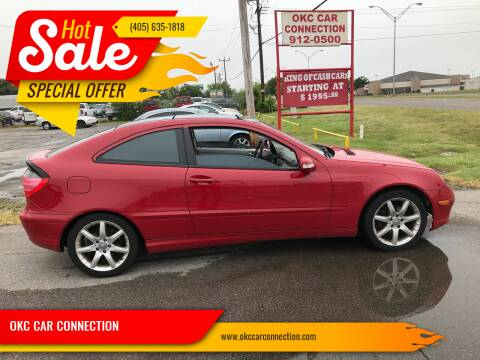 2004 Mercedes-Benz C-Class for sale at OKC CAR CONNECTION in Oklahoma City OK