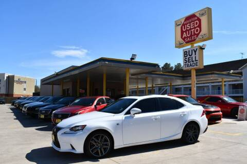 2016 Lexus IS 200t for sale at Houston Used Auto Sales in Houston TX