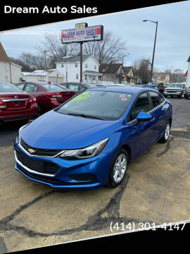 2016 Chevrolet Cruze for sale at Dream Auto Sales in South Milwaukee WI