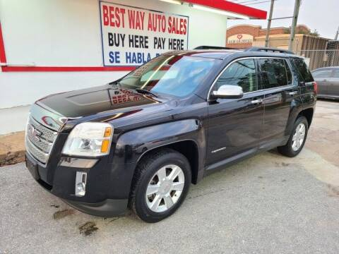2013 GMC Terrain for sale at Best Way Auto Sales II in Houston TX