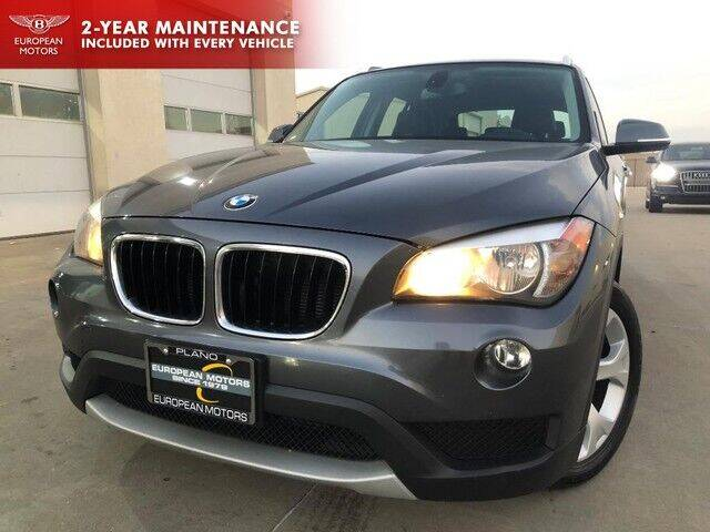 2013 BMW X1 for sale at European Motors Inc in Plano TX