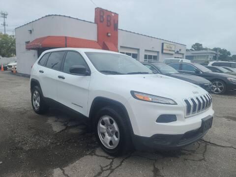 2017 Jeep Cherokee for sale at Best Buy Wheels in Virginia Beach VA